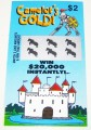 Camelots Gold $2 Fake Scratch-it