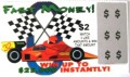 Fast Money $2 Fake Scratch-it
