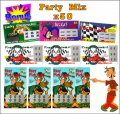 Party Mix - 50 Pack Fake Scratchies