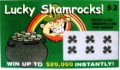 Lucky ShamRocks $2 Fake Scratchies