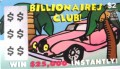 Billionaires Club $2 Fake Scratchies