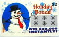 Holiday Bonus Christmas Themed Fake Scratchies