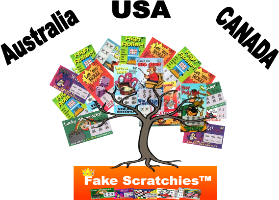 Fake Scratchies Money Tree™